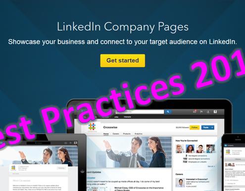 LinkedIn tips - LinkedIn bedrijvenpagina - Best Practices